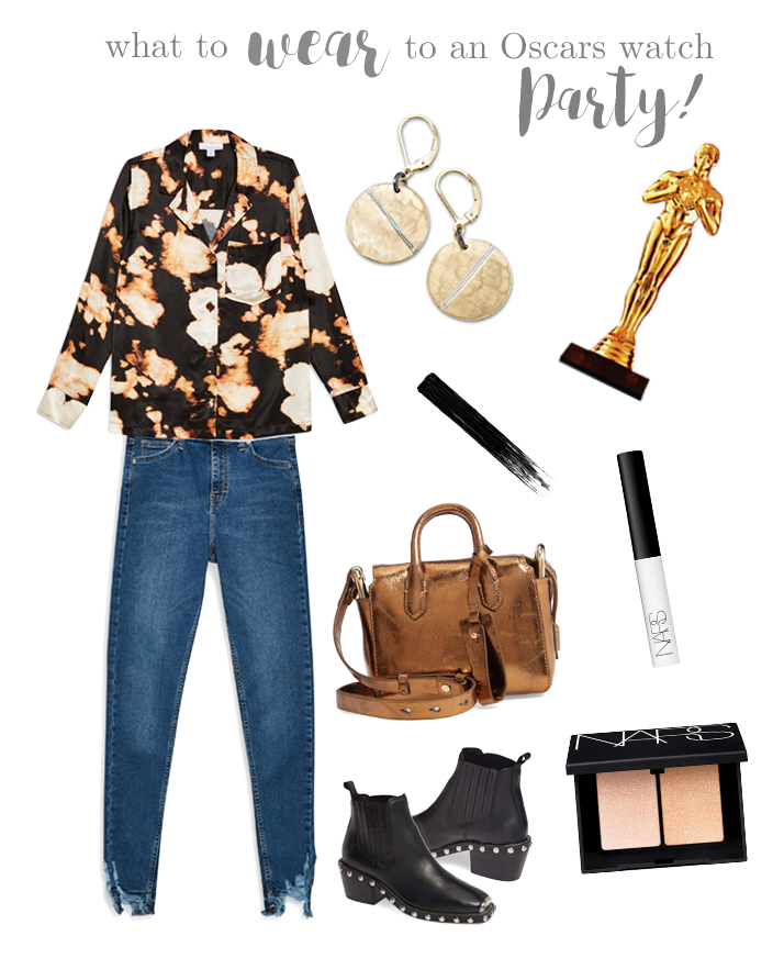 What to Wear to an Oscars Watch Party