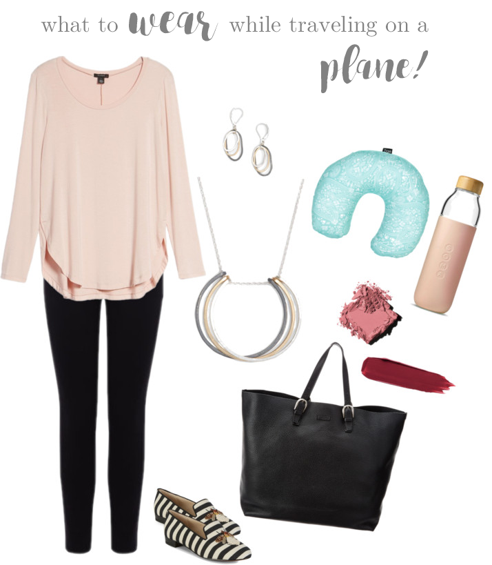 4b80de4fc8c6 Fashion Friday - What To Wear While Traveling On A Plane