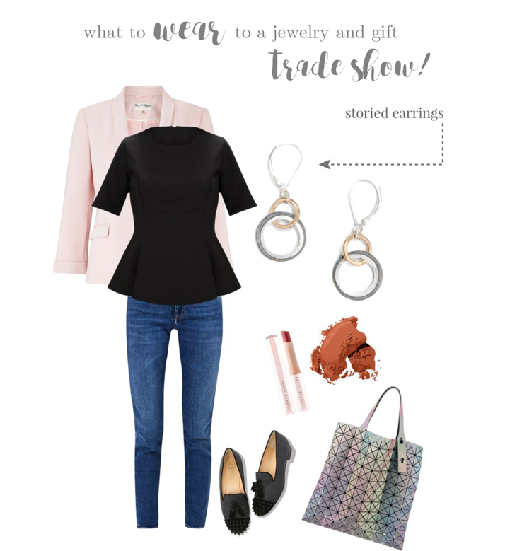 Freshie & Zero What To Wear To A Jewelry & Gift Tradeshow