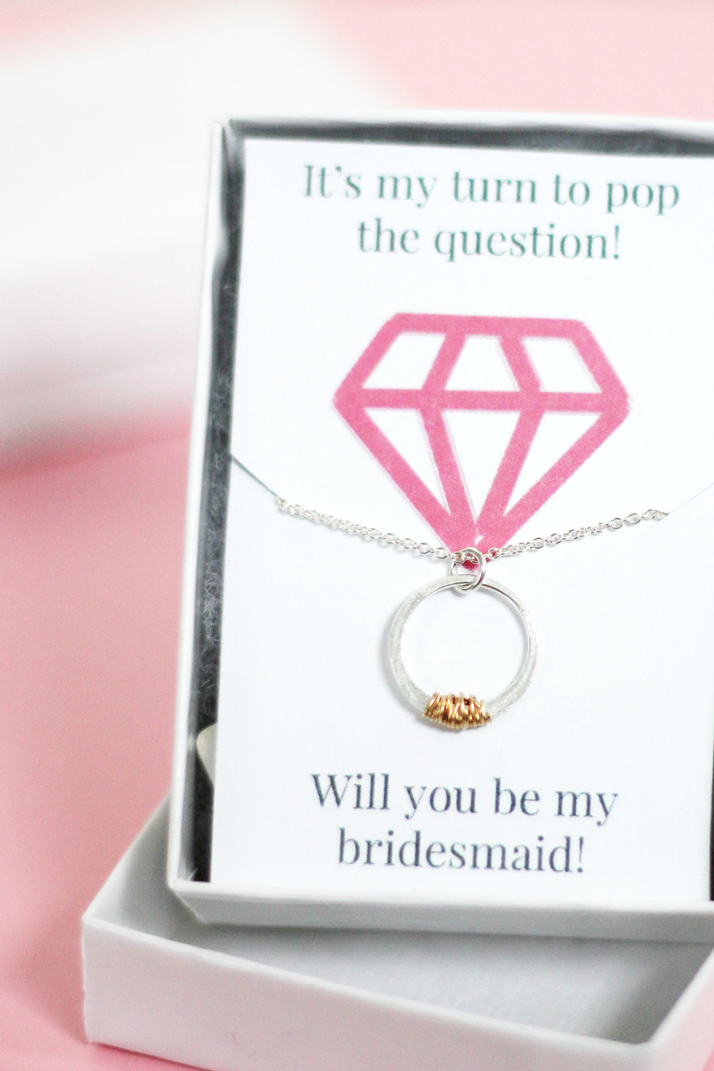 DIY Bridesmaid Printable Card
