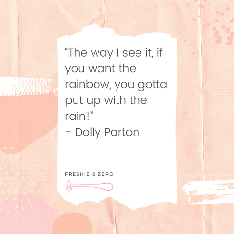 Dolly Parton Rainbows Quote