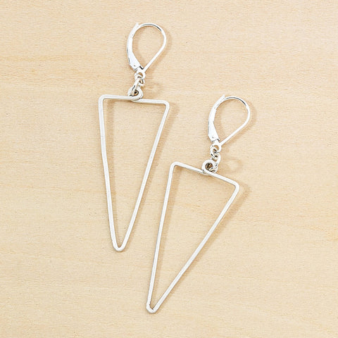 apex earrings sterling silver, freshie and zero