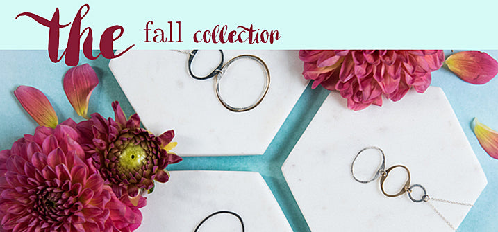 the fall collection handmade jewelry