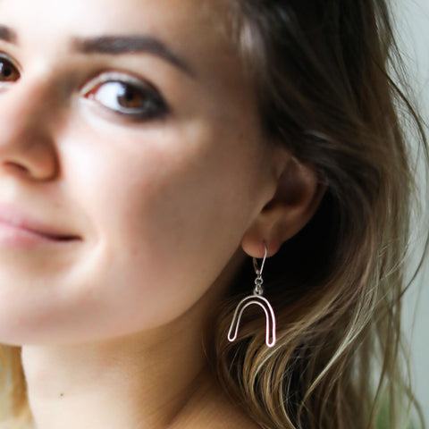 new arch earrings