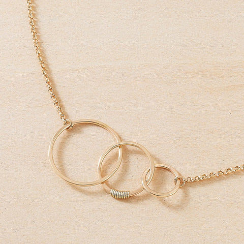 gold many moons necklace, freshie and zero, 5 essentials for simple easy summer style