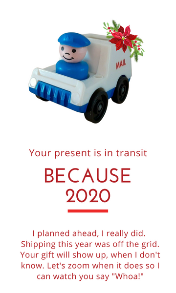 Your package is late because 2020