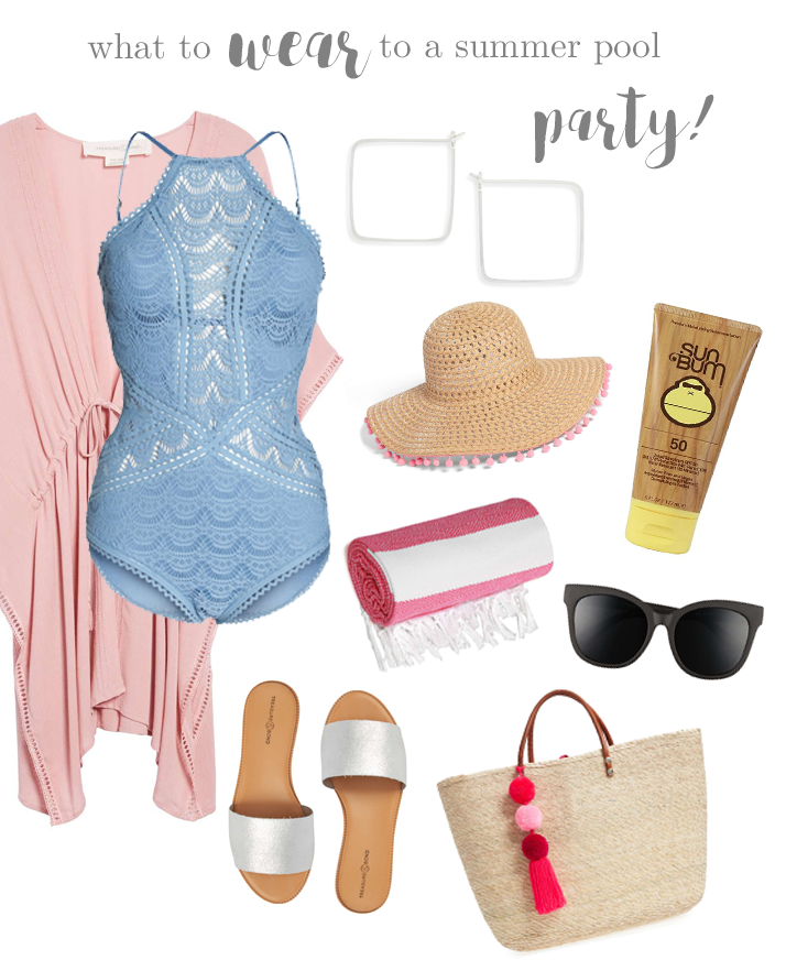 Fashion Friday - What To Wear To A Summer Pool Party