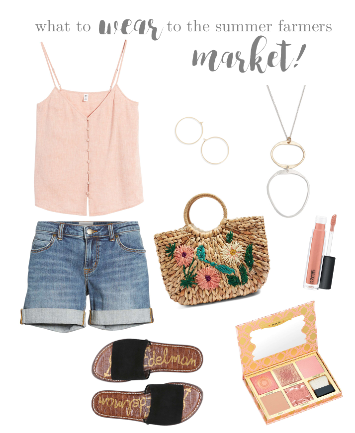 What To Wear To The Summer Farmers Market