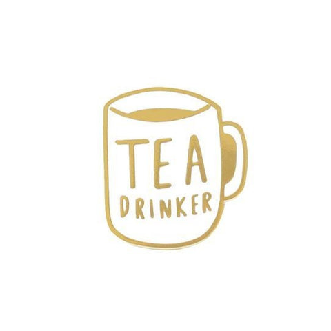 Old English Company - Tea Drinker Enamel Pin