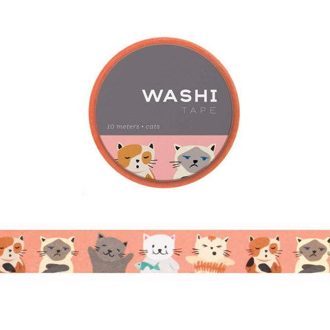 Washi Tape: cute cats