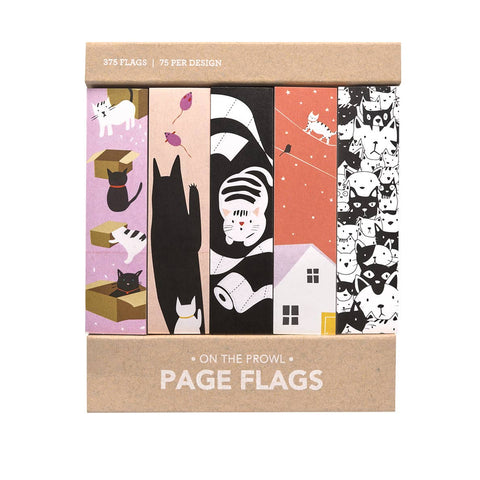 Page Flags: Cats On the Prowl