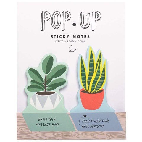 Pop Up Sticky Notes: House Plants
