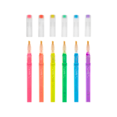 Liquid Neon Glitter Highlighters - Set of 6 - Freshie & Zero