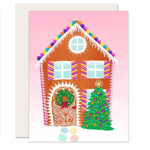 Holiday Card - Gingerbread House