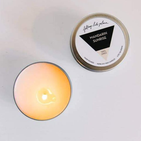 Travel Candle Mandarin Sunrise