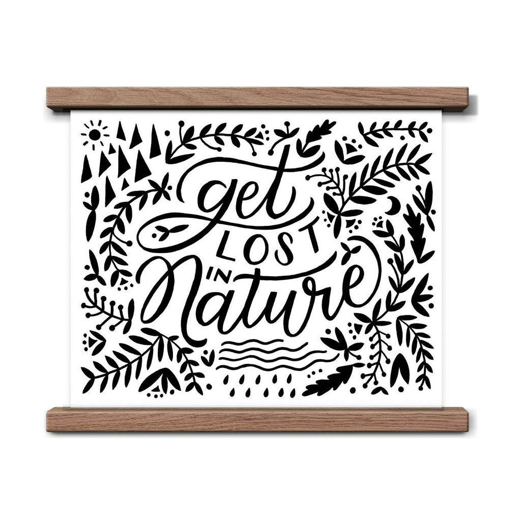 Get Lost In Nature Art Print - 8x10 - Freshie & Zero Studio Shop
