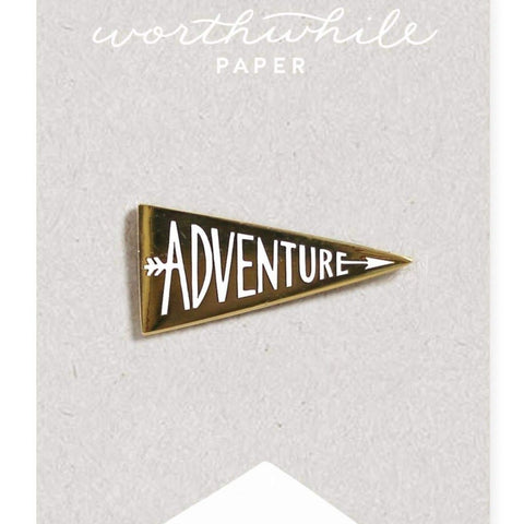 Worthwhile Paper - Adventure Enamel Pin