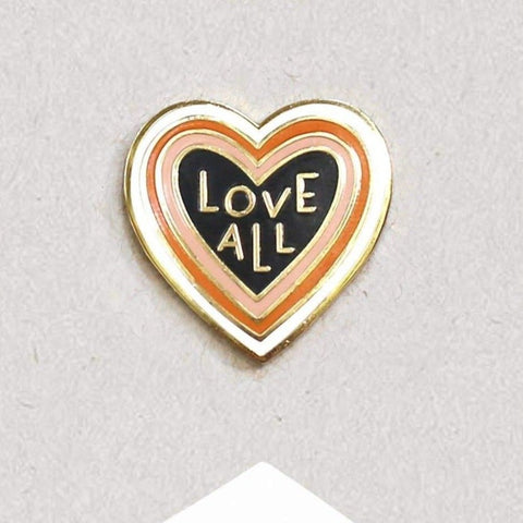 Love All Enamel Pin