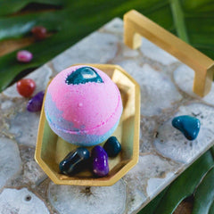 Whipped Up Wonderful - Moonsparkle Bath Bomb - Freshie & Zero | artisan handmade hammered jewelry | handmade in Nashville, TN