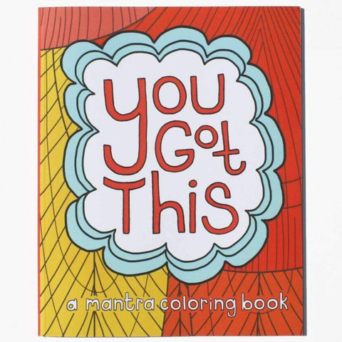 Coloring Book: You Got This