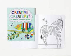 Coloring Book: Creative Creatures - Freshie & Zero Studio Shop