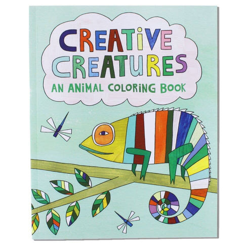 Coloring Book: Creative Creatures
