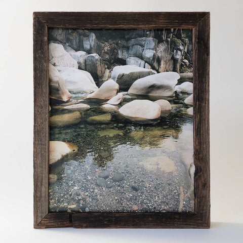 "8"" x 10"" Reclaimed Wood Gallery Frame"