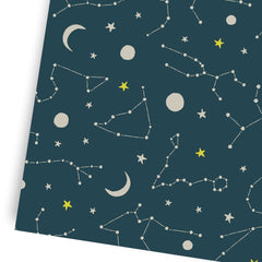 Constellations Gift Wrap - Freshie & Zero Studio Shop