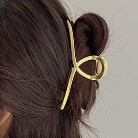 Metal French Twist Hair Claw Clip