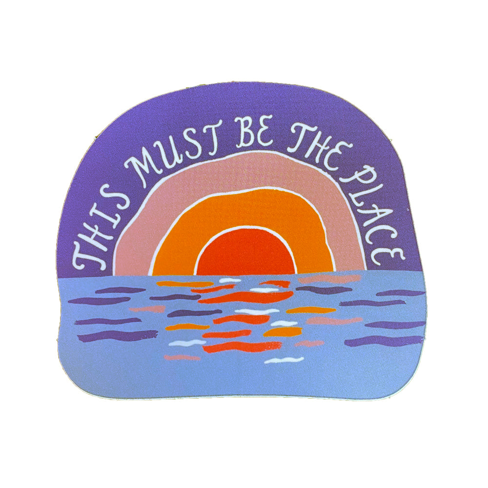 This Must Be the Place Sticker by Idlewild