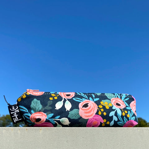 Pencil Pouch in Classic Rifle Paper Fabric
