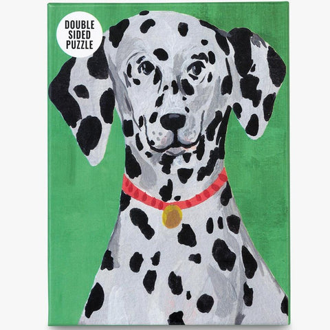 Dalmatian Mini Double Sided Puzzle 100 pieces