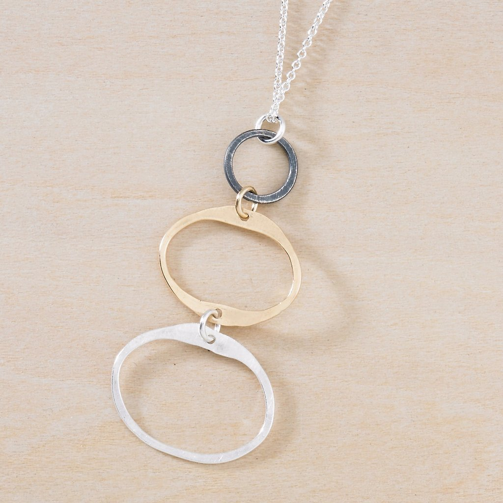 balance necklace - Freshie & Zero | artisan handmade hammered jewelry | handmade in Nashville, TN
