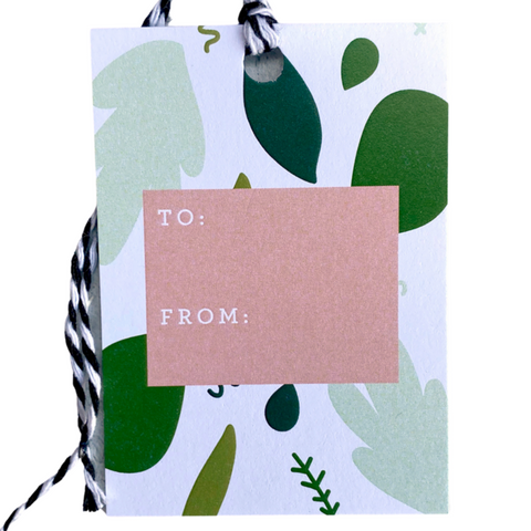 Holiday Gift Tags - Greenery