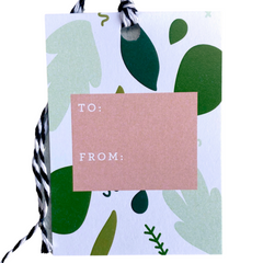 Holiday Gift Tags - Greenery - Freshie & Zero Studio Shop