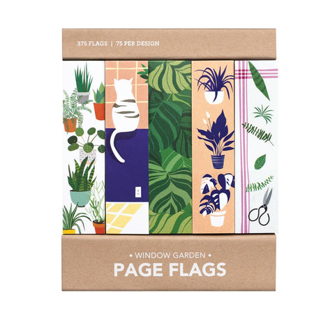 Page Flags: Window Garden Cat