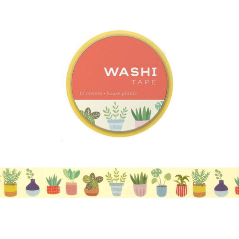 Washi Tape: House Plants