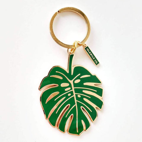 Monstera Keychain by Idlewild