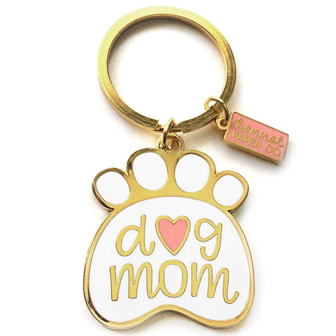 Dog Mom Keyring