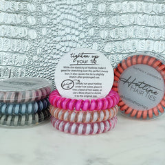 Twist Hair Ties: Classic Metallics - Freshie & Zero