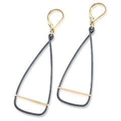 antique oar earrings - Freshie & Zero