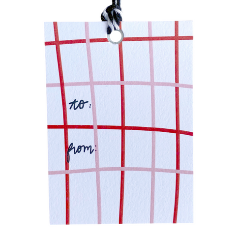 Holiday Gift Tags - Plaid