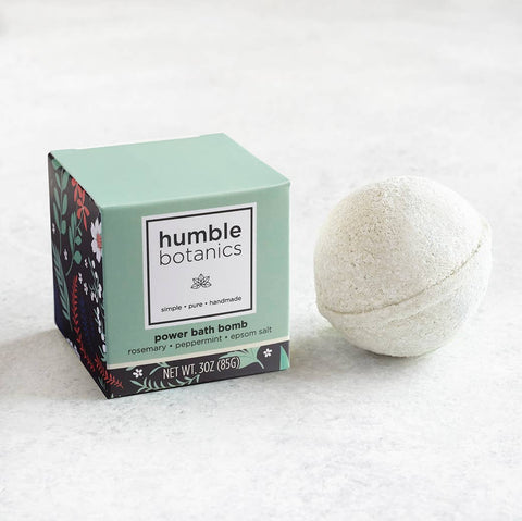 Essential Oils Bath Bomb - Organic Rosemary & Peppermint