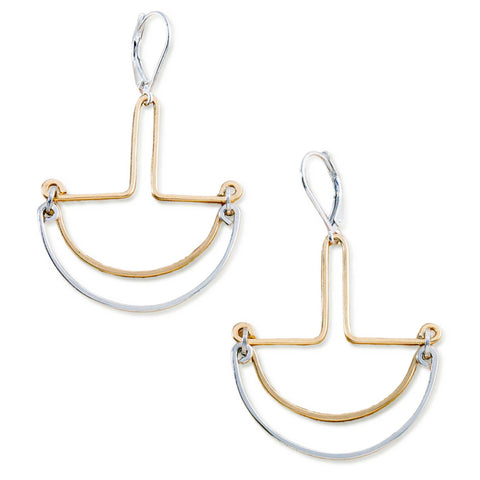 Golden Recess Earrings
