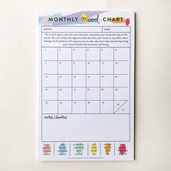 Tracker Notepad: Monthly Mood Chart - Freshie & Zero Studio Shop