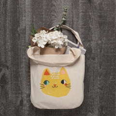 Danica Studio Cotton Tote - Meow Meow Cat - Freshie & Zero Studio Shop