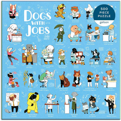 Dogs With Jobs Puzzle 500 pieces