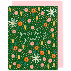 boxed set of illustrated cards you're doing great by little low studio shop small