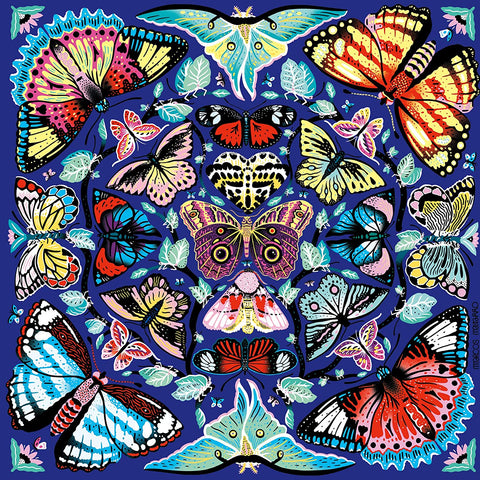 Kaleido-Butterflies Jigsaw Puzzle 500 pieces