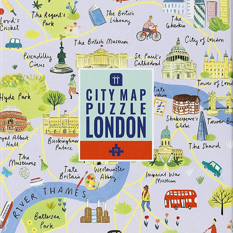 City Map Puzzle London 250 pieces